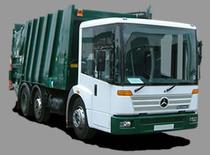 Ticaret alanı Refuse Trucks